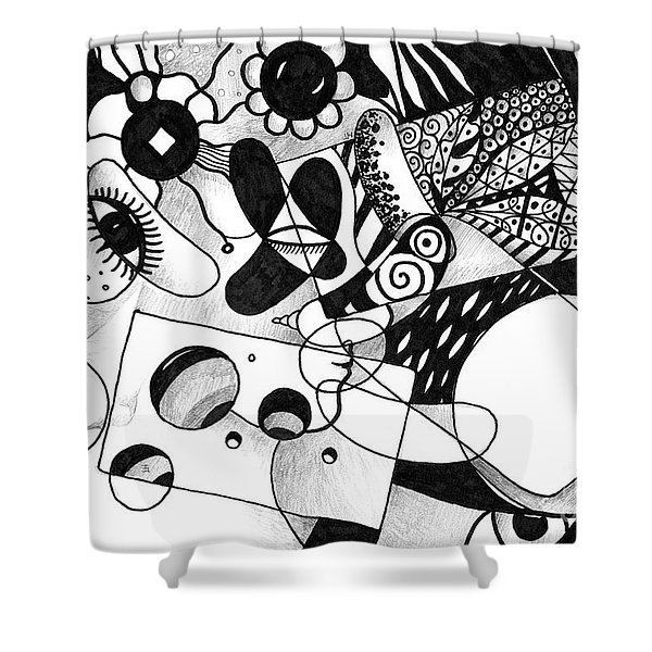 Just In Time Shower Curtain
