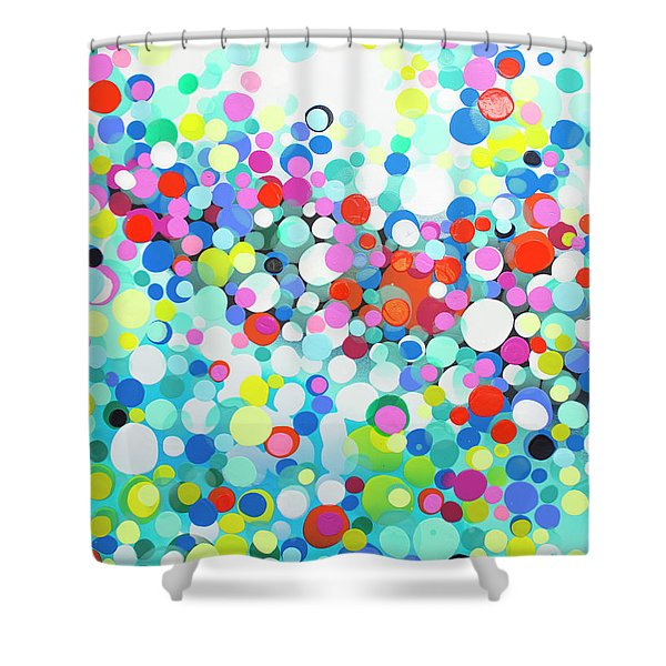 Just Let It Shower Curtain