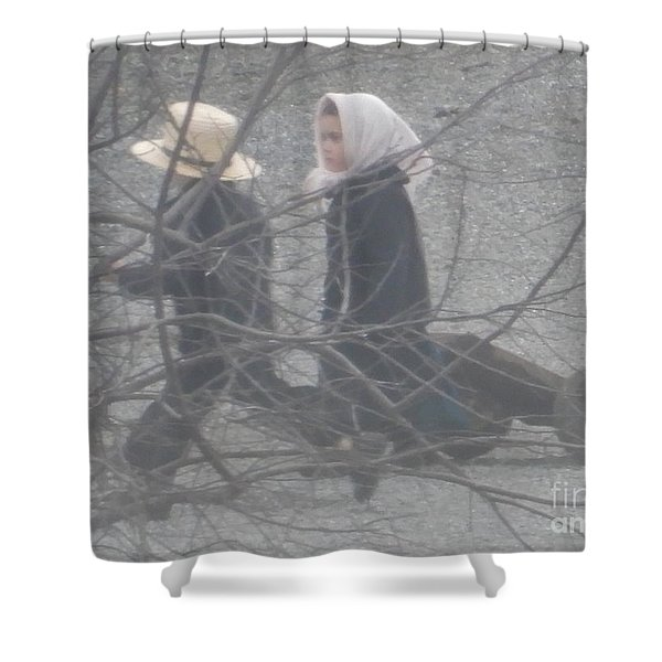 Just Like Mom And Dad Shower Curtain