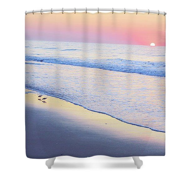 Just The Two Of Us - Jersey Shore Series Shower Curtain