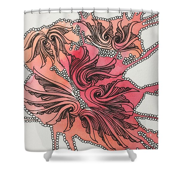 Just Wing It Shower Curtain