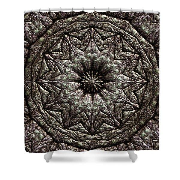 Shower Curtain featuring the digital art Jyoti Ahau 213 by Robert Thalmeier