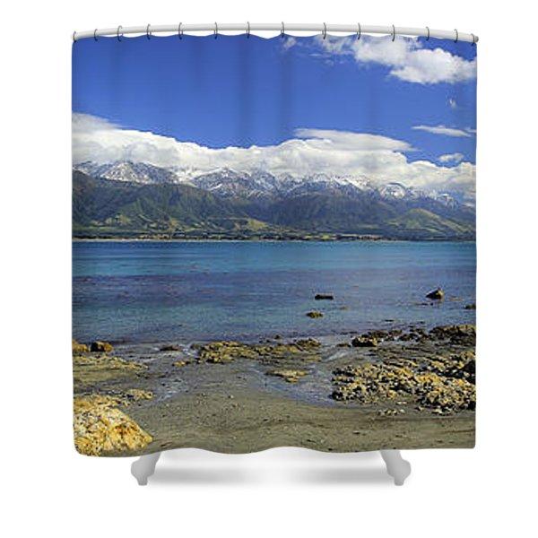 Kaikoura Panorama Shower Curtain