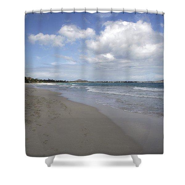 Kailua Beach, Oahu Shower Curtain