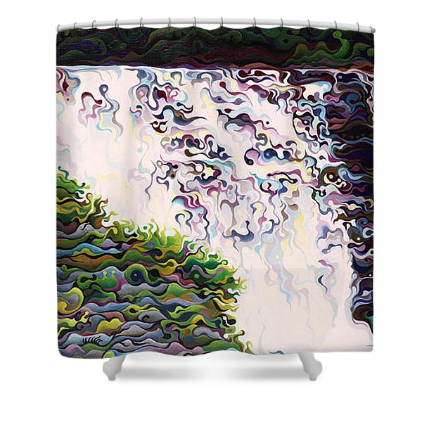 Kakabeca's Concertillion Shower Curtain