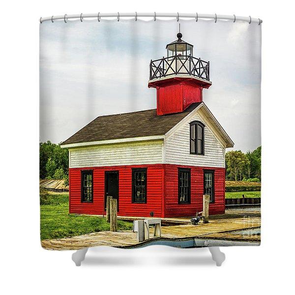 Kalamazoo Lighthouse Shower Curtain