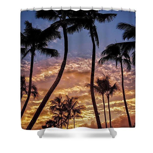 Kalapki Sunset Shower Curtain