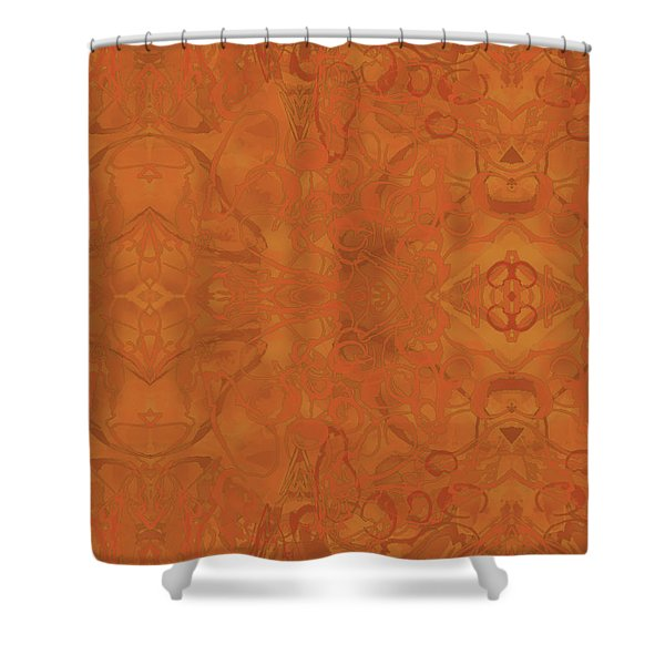 Kaleid Abstract Moroccan Shower Curtain