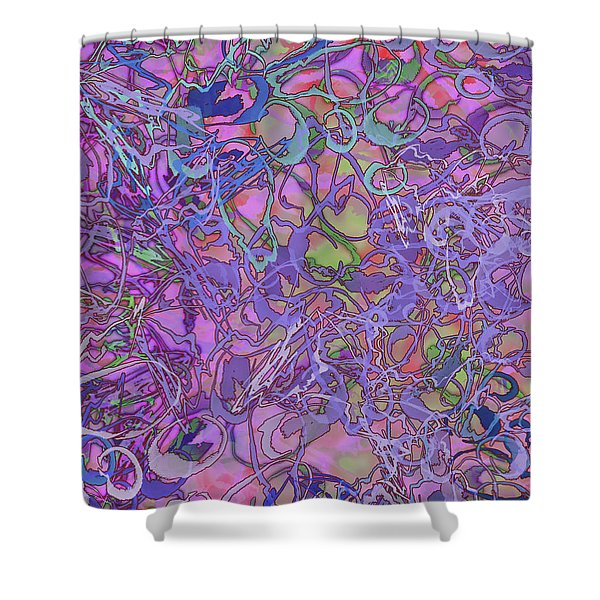 Kaleid Abstract Trip Shower Curtain