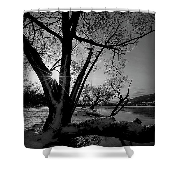 Kaloya Park Shower Curtain