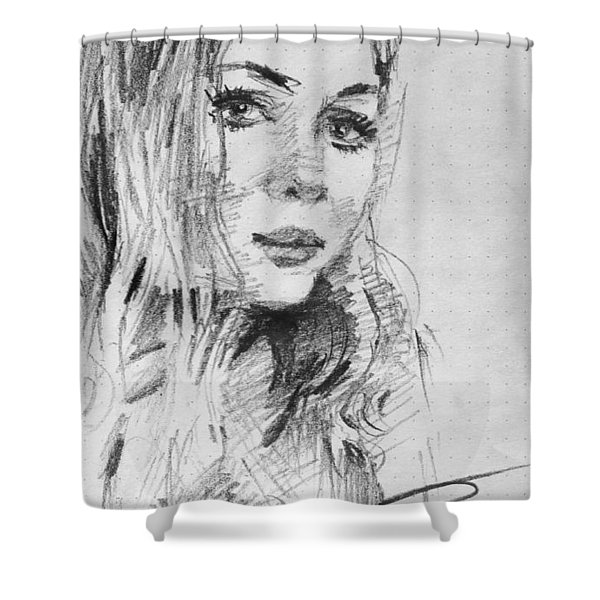 Kamela Shower Curtain