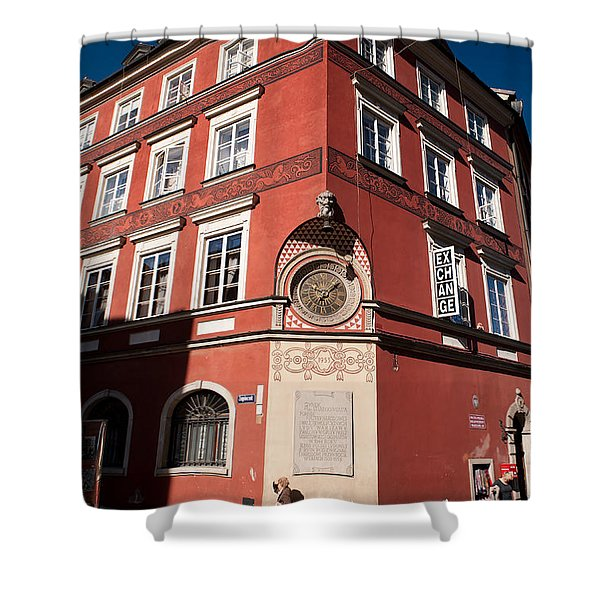 Kamienica Simonettich Building Shower Curtain