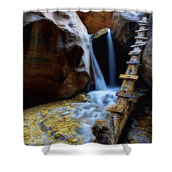 Kanarra Shower Curtain