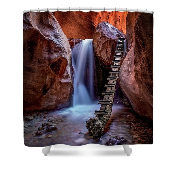 Kanarraville Falls Shower Curtain