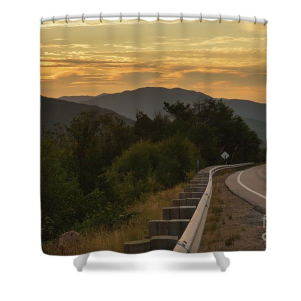 Shower Curtain featuring the photograph Kancamagus Highway - New Hampshire Usa by Erin Paul Donovan