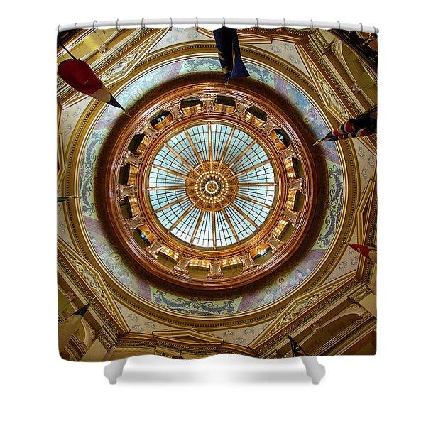 Kansas Dome Shower Curtain