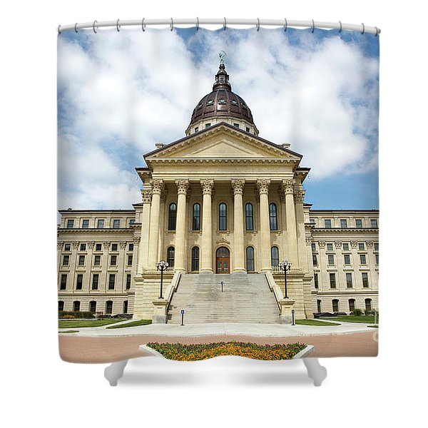 Kansas State Capitol Building Shower Curtain