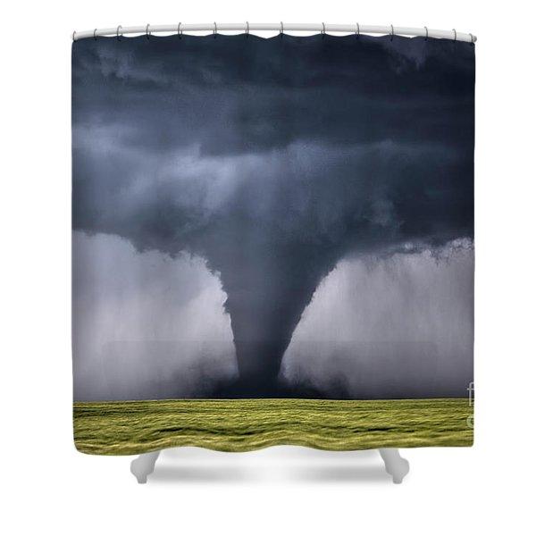 Kansas Tornado Shower Curtain