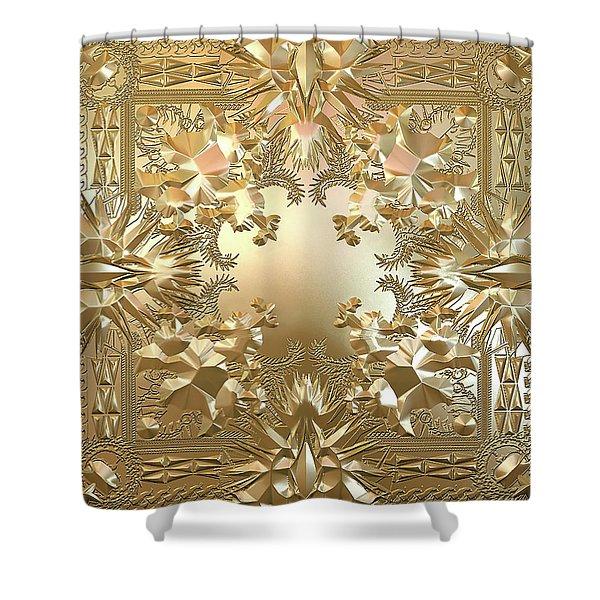 Kanye Jay Z, Hip Hop, Cool 2015 Rap Shower Curtain
