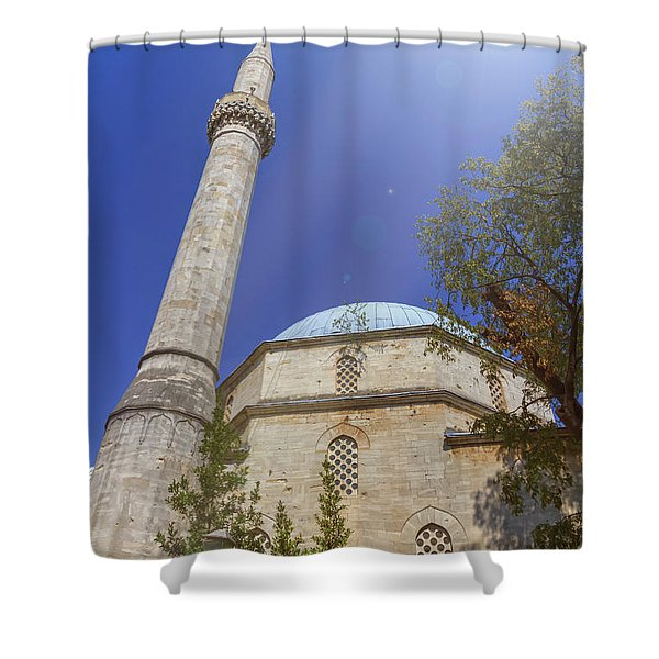 Karadoz Bey Mosque, Mostar, Bosnia And Herzegovina Shower Curtain