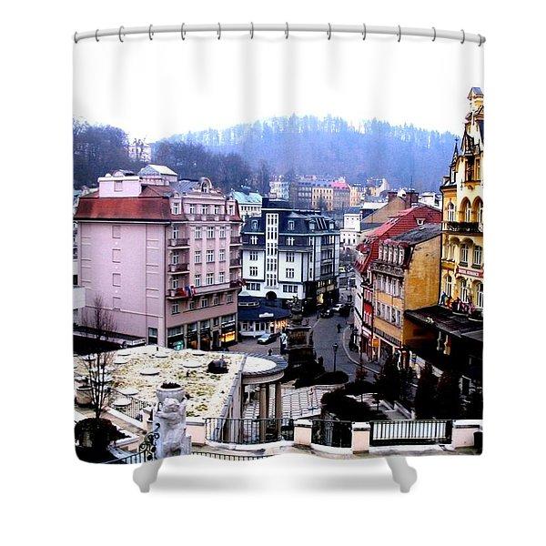 Karlovy Vary Cz Shower Curtain