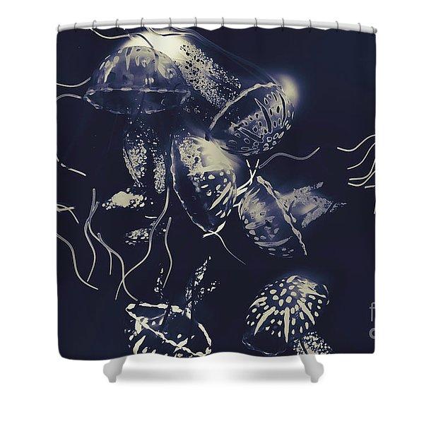 Karmic Poison Shower Curtain