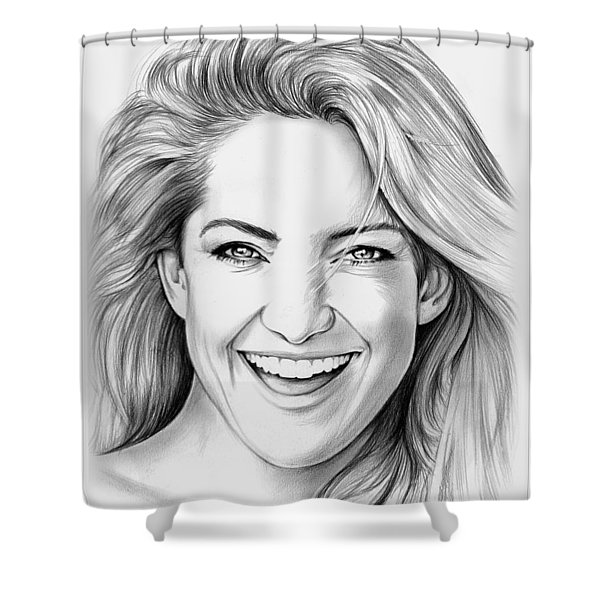 Kate Hudson Shower Curtain