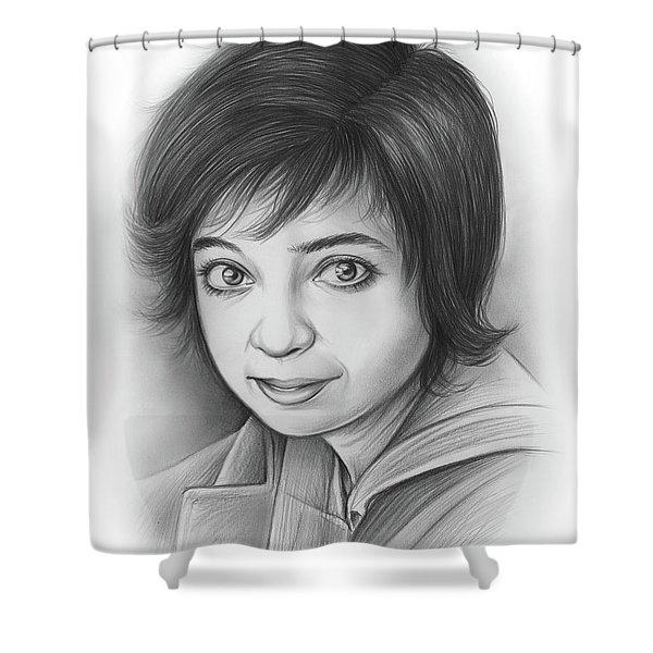 Kate Micucci Shower Curtain