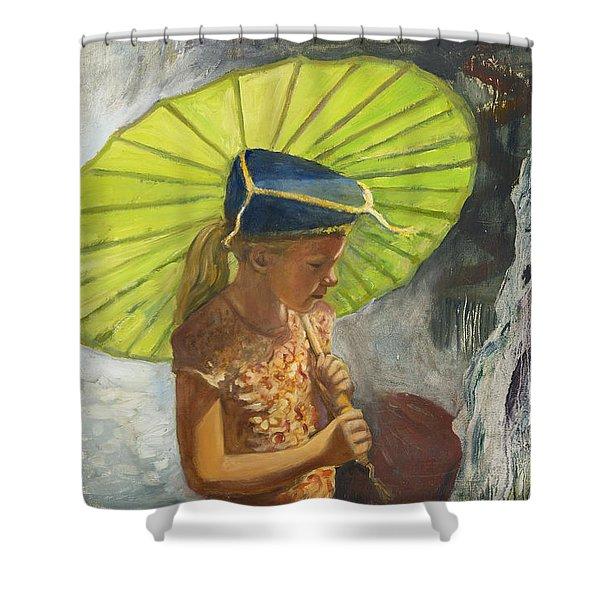 Katemandu Shower Curtain