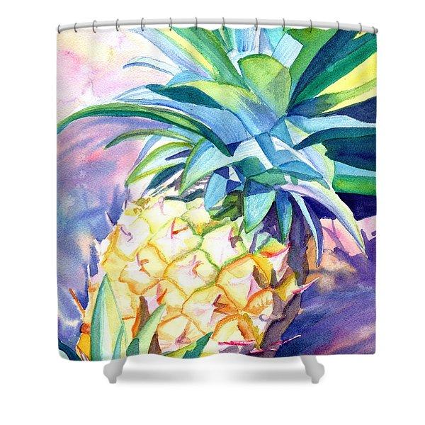 Kauai Pineapple 3 Shower Curtain