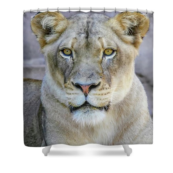 Kaya Portrait Shower Curtain