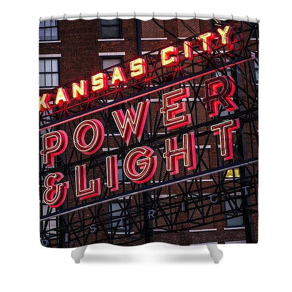 Kc Power And Light Shower Curtain