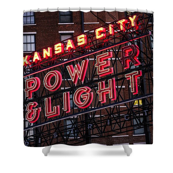 Kc Power And Light Shower Curtain