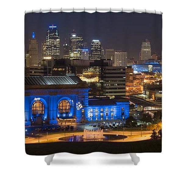 Kc Royal Skyline Shower Curtain