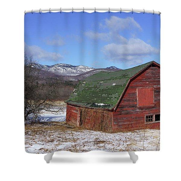 Keene Barn Shower Curtain