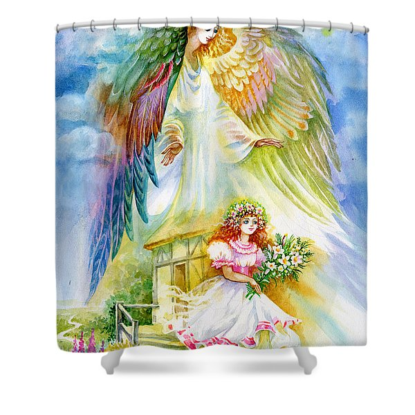 Keep Her Safe Lord Shower Curtain
