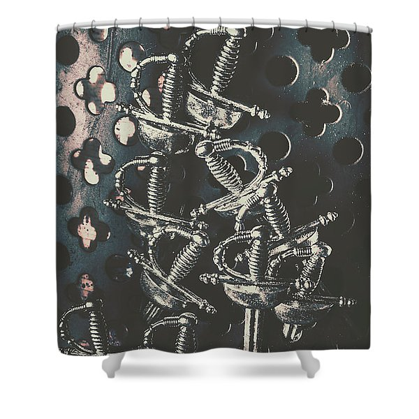 Keep Of A Royal Armoury Shower Curtain
