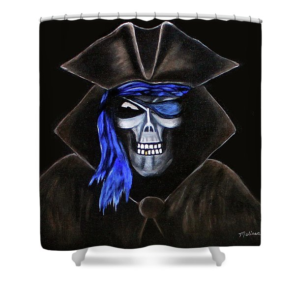 Keep To The Code Shower Curtain