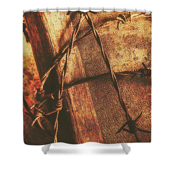 Keepers Of The Oath Shower Curtain