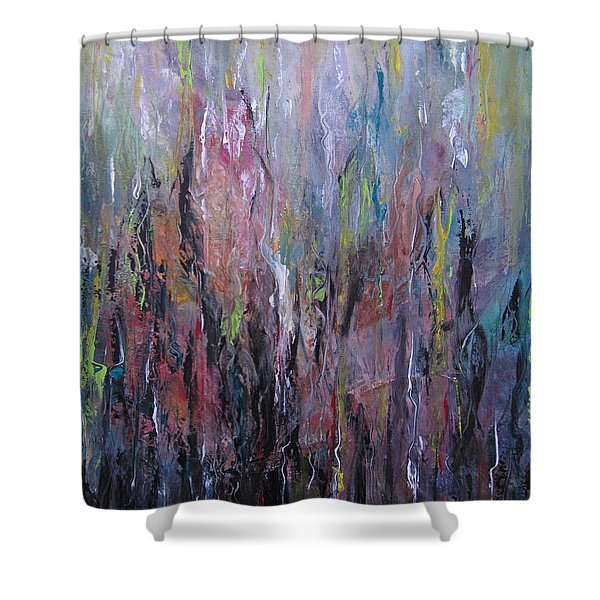 Keeping Pace Shower Curtain