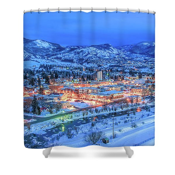 Kelly 2 Shower Curtain