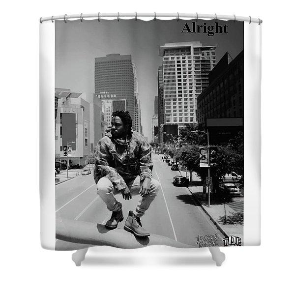 Kendrick Lamar, Pimp Butterfly Shower Curtain