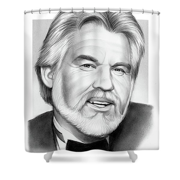 Kenny Rogers Shower Curtain