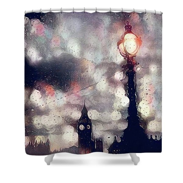 Kensington Rain Shower Curtain