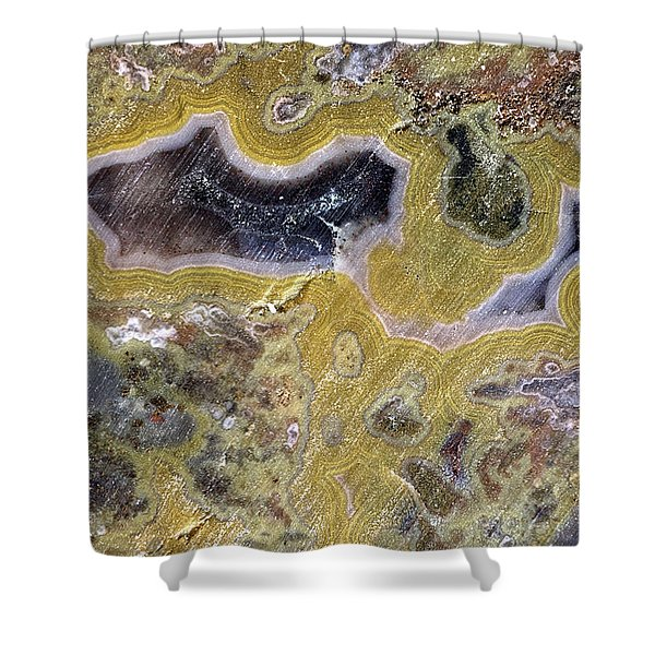 Kentucky Agate Shower Curtain