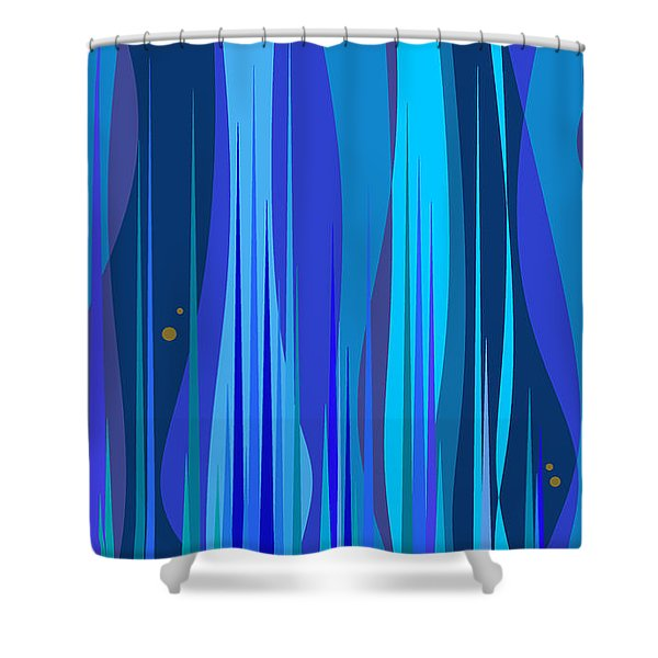 Kentucky Blue Grass Shower Curtain
