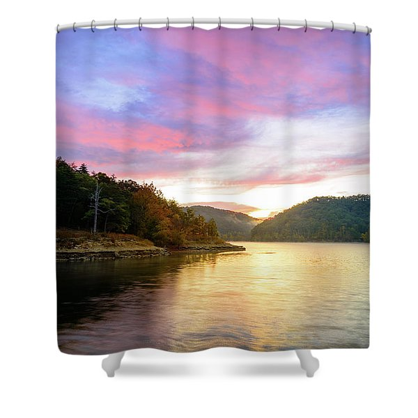 Kentucky Gold Shower Curtain