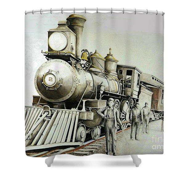 Kentucky Iron Horse Shower Curtain