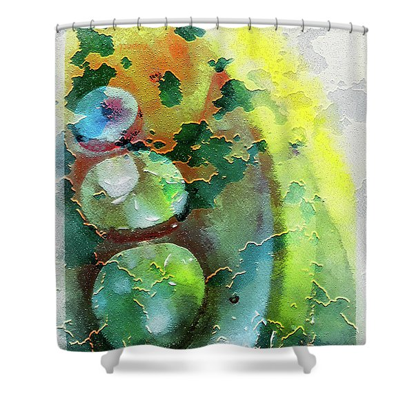 Kernodle On The Half Shell Shower Curtain