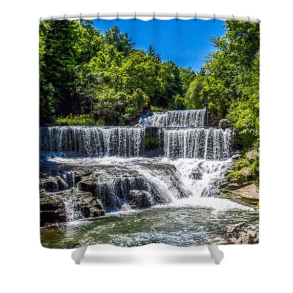 Keuka Outlet Waterfall Shower Curtain